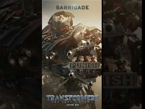 Barricade - Motion Poster Barricade (English)