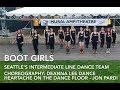 Download Video Heartache on the Dance Floor Line Dance (Boot Girls) - Jon Pardi