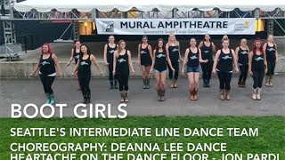 Heartache on the Dance Floor Line Dance (Boot Girls) - Jon Pardi Mp3