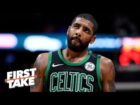 Stephen A. and Max debate whether Kyrie Irving should leave Celtics for Knicks   First Take   ESPN