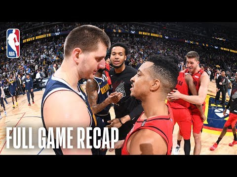 TRAIL BLAZERS vs NUGGETS | The Season Comes Down To The Wire | Game 7