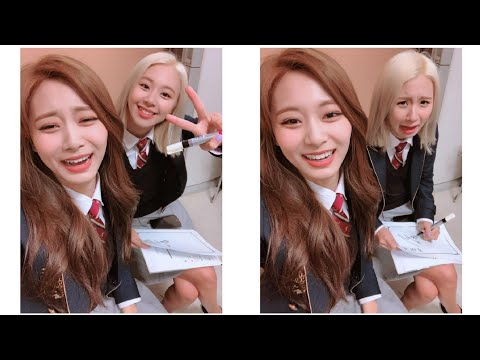 Graduation quotes - TWICE Chaeyoung & Tzuyu 'School Last Photos' Graduation Day Instagram Update 190212