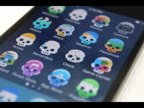 comment modifier icone iphone 4