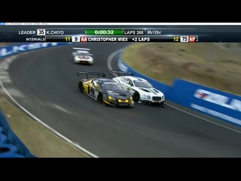 Bathurst 12 Hours 2015. Last Laps Battle