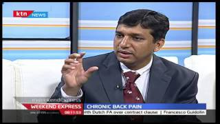 Weekend Express 28th August 2016: Chronic Back Pain