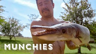 Alligator Fish Tacos - The Ultimate Taco Tour of Mexico by Munchies