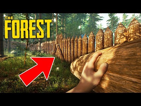BUILDING THE BEST BASE EVER!! (The Forest) (видео)