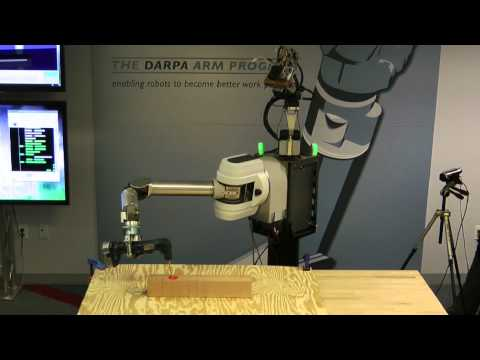 mit Robot Electronics Autonomy - DARPA's Autonomous Robotic Manipulation (ARM) program is developing software to perform human-level tasks quickly and with minimal direction. This video show...