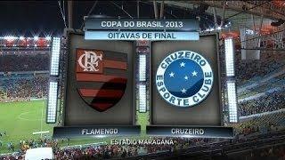 Narração Luiz Penido - Rádio Globo RJ Flamengo 1 x 0 Cruzeiro - Copa do Brasil 2013 - Gol Elias.