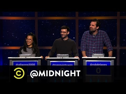 Rob Delaney, Tommy Johnagin and Ali Wong - Etsy Pitchmen - Stem Cell Smoothie - @midnight