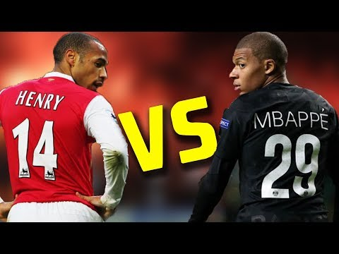 Kylian Mbappe Vs Thierry Henry | French Goal Machines | Best Skills And Goals HD