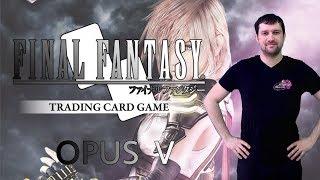 Vidéo Final Fantasy TCG Opus V