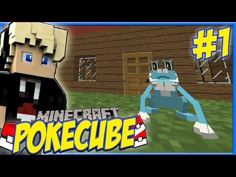 Minecraft PokeCube Revival Episode 1 - FROAKIE WANTS TO KILL ME! Pokemon in Minecraft!