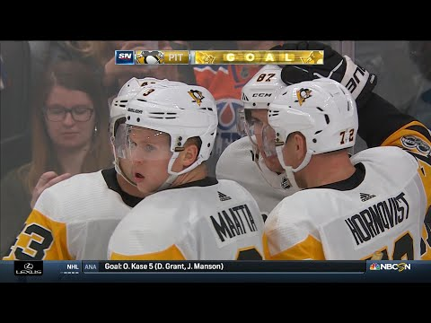Video: Crosby, Pens hold off McDavid, Oilers