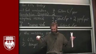 Lecture 19 - The Carbon Cycle Today