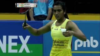 Video Yonex Sunrise India Open 2017 | Badminton QF M5-WS | Saina Nehwal vs Pusarla V. Sindhu MP3, 3GP, MP4, WEBM, AVI, FLV September 2018