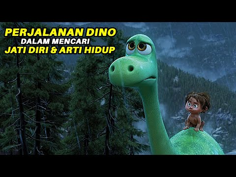 LAWAN RASA TAKUTMU!! ||  Alur cerita film THE GOOD DINOSAUR (2015)