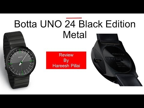 Review Botta UNO 24 Metal Black Edition