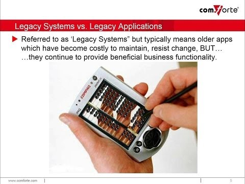 Modernizing Legacy Applications on HP NonStop - From the ground up and the user in