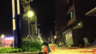 Jieyang China  City pictures : Burning fireworks at Jason's! Chinese New Year, JieYang, China, 18 Feb 2015