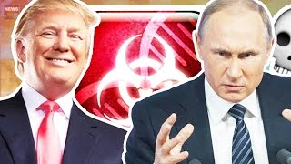 PLAGUE INC. DONALD TRUMP VS VLADIMIR PUTIN CHALLENGE (INFECT THE WORLD MODE)