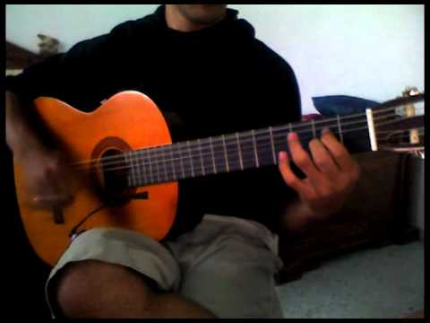 Mohamed Hamaki --- Khallina Niich - ( Guitar Tutorial ) (видео)