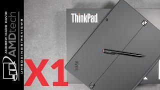 Lenovo Thinkpad X1 Tablet (3rd Gen):  Unboxing & Review