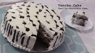 Vancho Cake/Vanilla-Chocolate cake with out oven