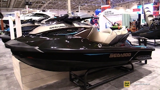 6. 2017 Sea Doo GTX Limited 300 Jet Ski - Walkaround - 2017 Toronto Boat Show