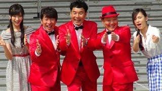 ダチョウ倶楽部、横山ルリカ(アイドリング!!!)、肥後千暁/ダイバーシティ東京 2周年記念スペシャルステージ