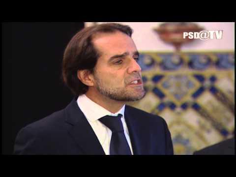 Miguel Albuquerque no final da audiência com o Presidente da República