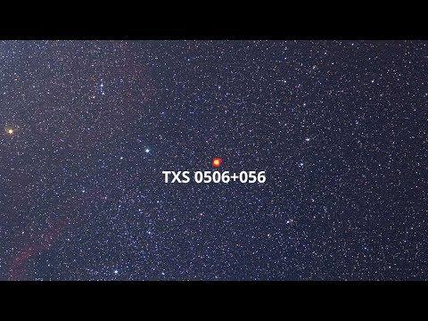 Blazar TXS 0506+056 sends high-energy neutrino (4K)