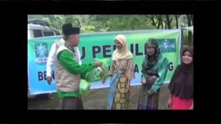 LPBI NU Padang Menyerahkan Bantuan Kepada Masyarakat Terdampak Bencana Banjir