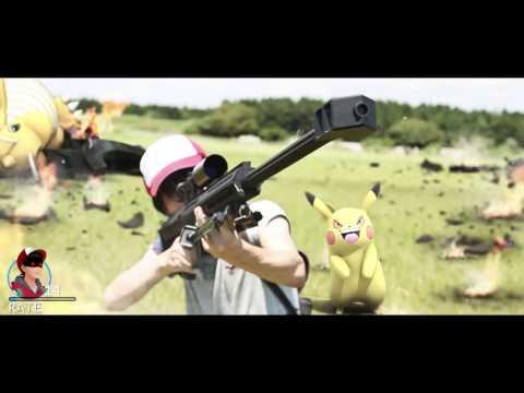 粉絲自製超高質短片!Pokemon Go 「為了夢夢」現實的戰爭!