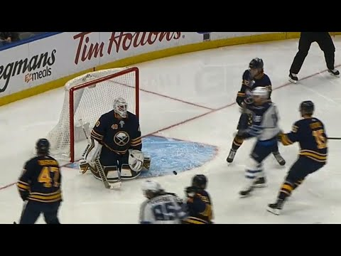 Video: Ehlers ends Lehner's night with early second period goal