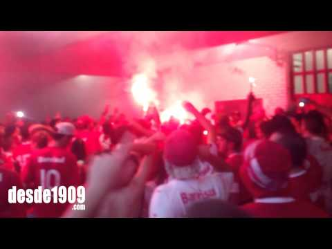 Vs U. de Chile - LA15 - Matar um puto Tricolor - Guarda Popular do Inter - Internacional