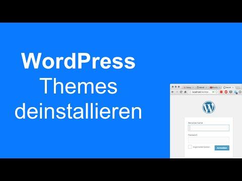 How-To: WordPress Themes deinstallieren und löschen