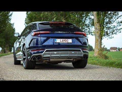 Lamborghini Urus - LOUD Accelerations !