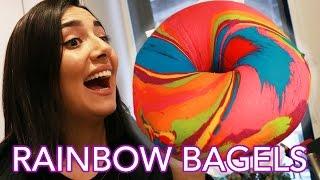 Video We Tried Instagram Rainbow Bagels • Saf & Tyler MP3, 3GP, MP4, WEBM, AVI, FLV Oktober 2018