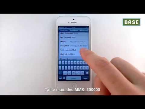 comment installer mms sur iphone 5