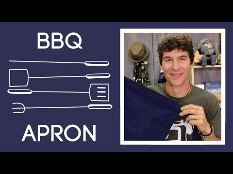 How to Make a BBQ Utility Apron: Easy Sewing Tutorial with Rob Appell of Man Sewing