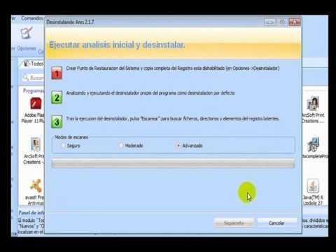 Video 1 de Revo Uninstaller: Desinstalar programas