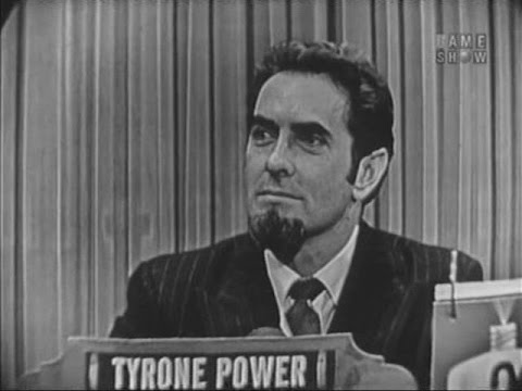 What's My Line? - Tyrone Power; Wally Cox [panel] (Mar 27, 1955)