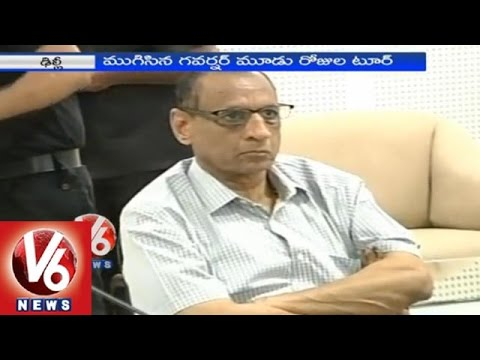 Governor submits report on Telangana Household Survey to NDA government