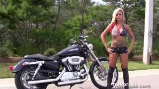 9. Used 2009 Harley Davidson Sportster 1200 Custom Motorcycles for sale