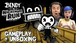 Bendy And The Ink Machine (Nightmare Run) Gameplay and Unboxing Hack
