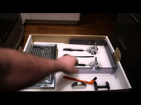 Unboxing of the Giotto Premium Plus espresso machine.  Rapha Cycle club limited edition