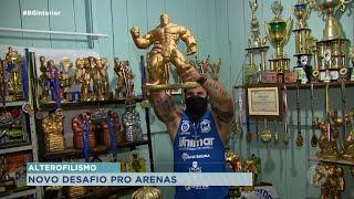 Eduardo Arena muda de categoria e tenta novo recorde