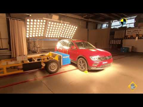 VW Tiguan crash test Latin NCAP