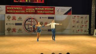 Erste Runde Fußtechnik Teil 1  - World Masters Moskau 2013